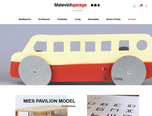 Web Malevich Garage