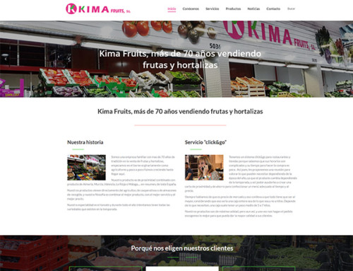 Web Kima Fruits